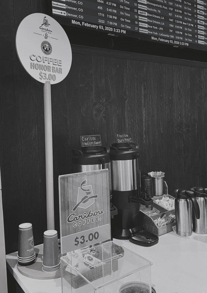 Coffee Honor Bar
